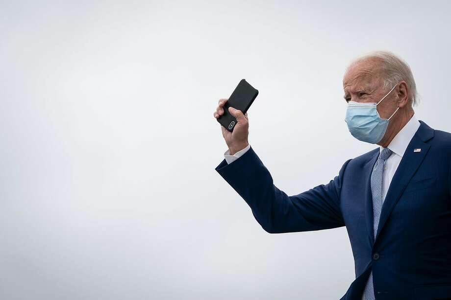 President-elect Joe Biden Photo: Drew Angerer / Getty Images