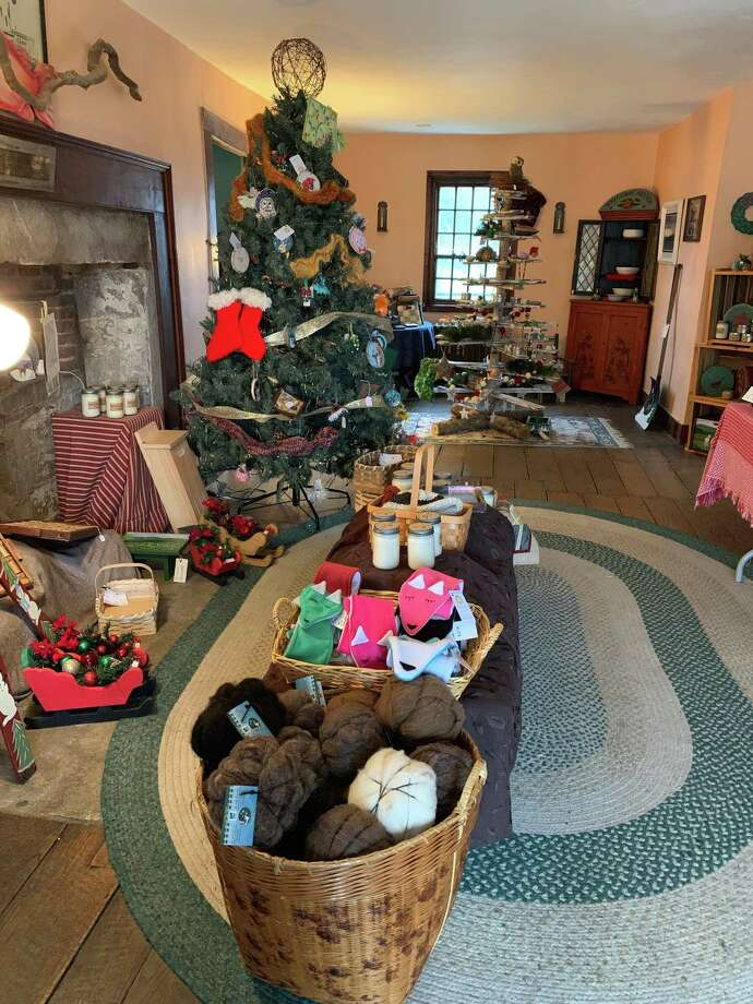 Flanders Nature Center's holiday marketplace opens Nov. 14 for the holiday season. Photo: Contributed Photo