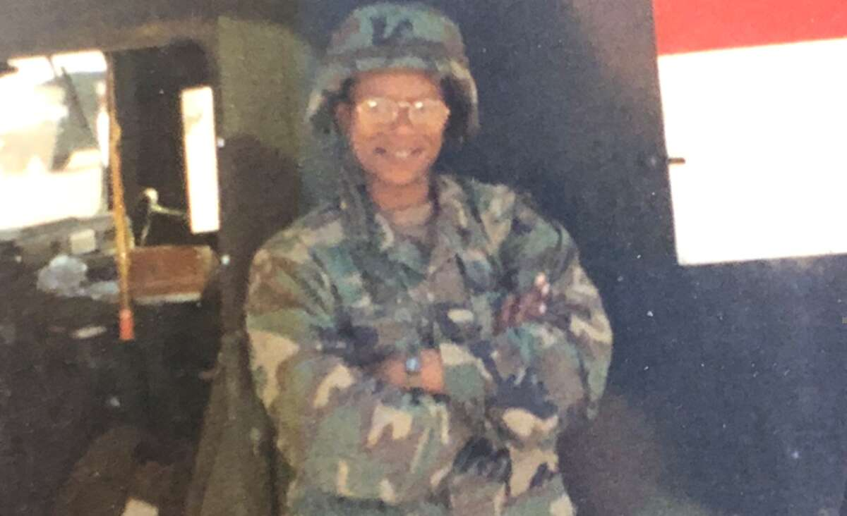Clarissa Collins served in the first Gulf War. (Contributed photo)
