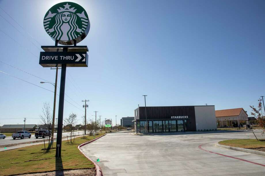 Another Starbucks location will open Monday as seen Wednesday, Nov. 11, 2020 at 4101 North Big Spring Street.     Jacy Lewis/Reporter-Telegram Photo: Jacy Lewis/Reporter-Telegram