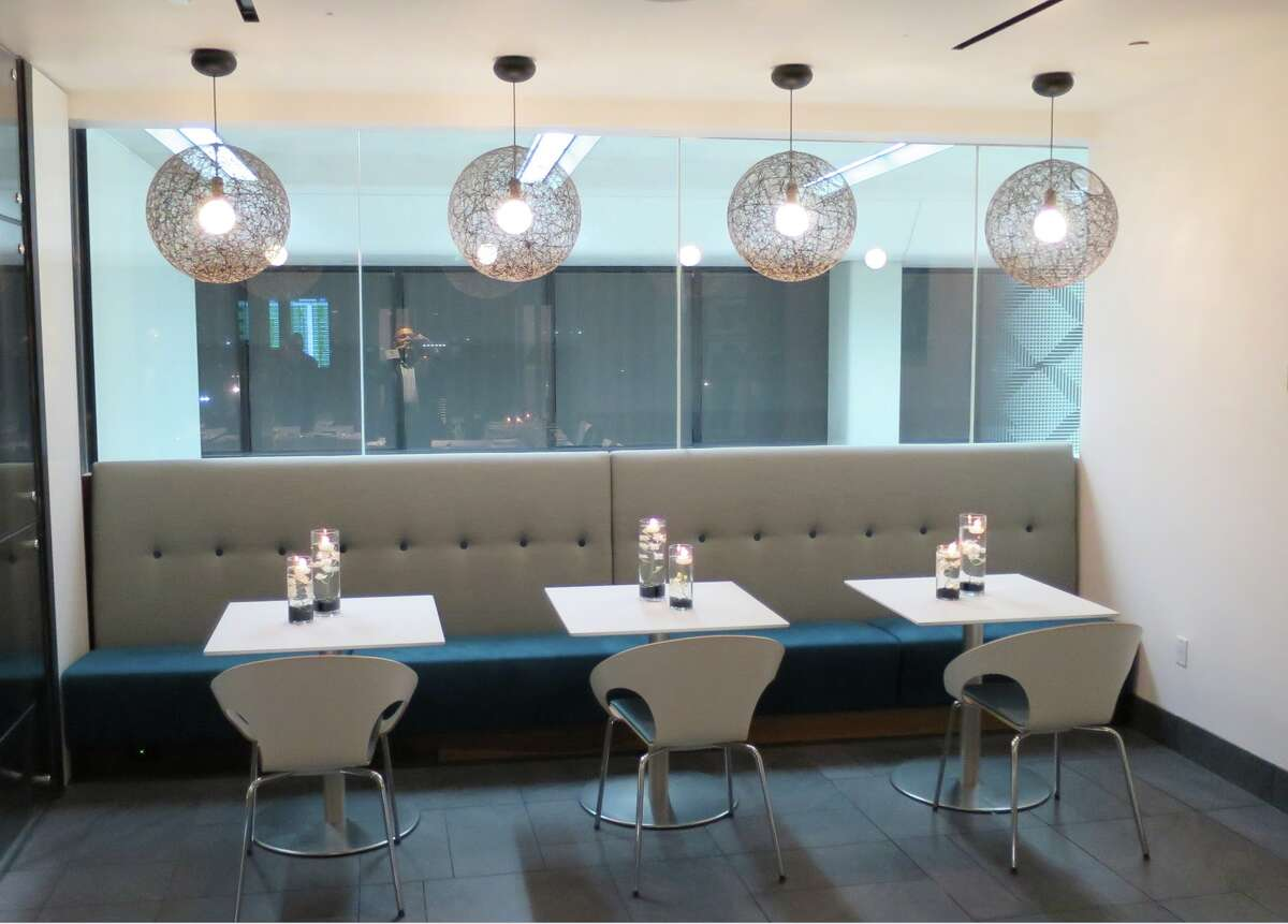 The American Express Centurion Lounge at San Francisco International Airport is located in United's Terminal 3, on the mezzanine level behind security.