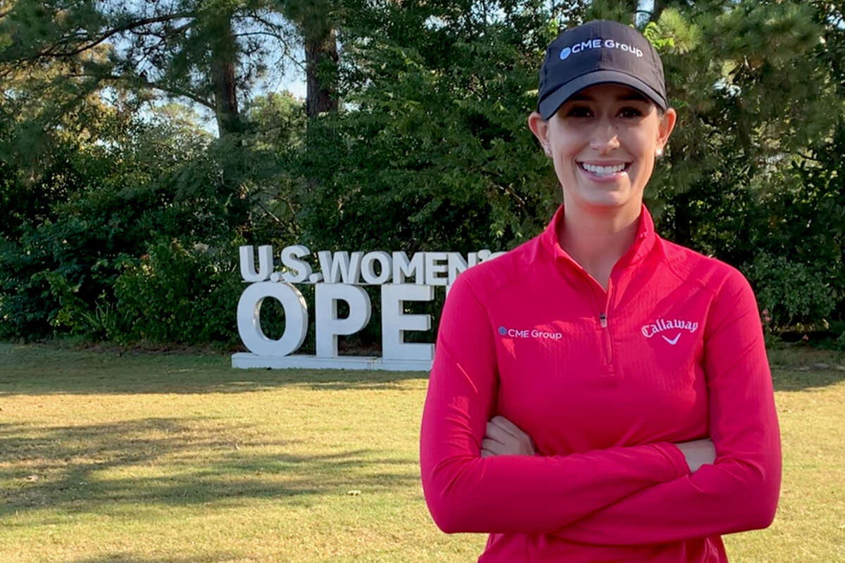 Cheyenne Knight, a native of The Woodlands, is more than familiar with Champions Golf Club as its hosts the U.S. Women's Open.