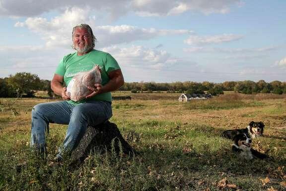 Brenham turkey farmer bets on his birds in a risky, COVID season