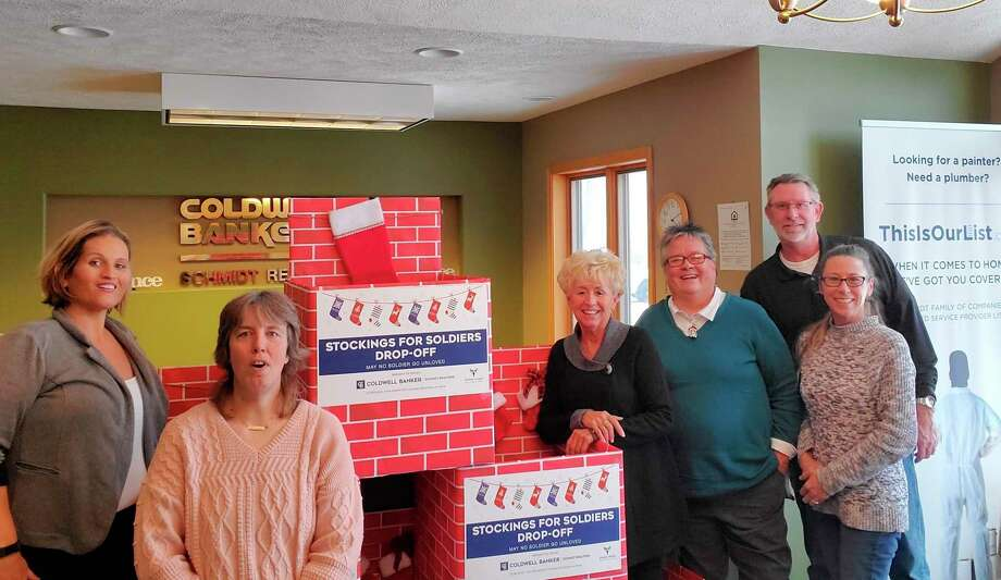 Coldwell Banker Schmidt Realtors Benzie Office is looking to rally support for the nation's soldiers by sending them stockings filled with gifts. (Courtesy Photo)