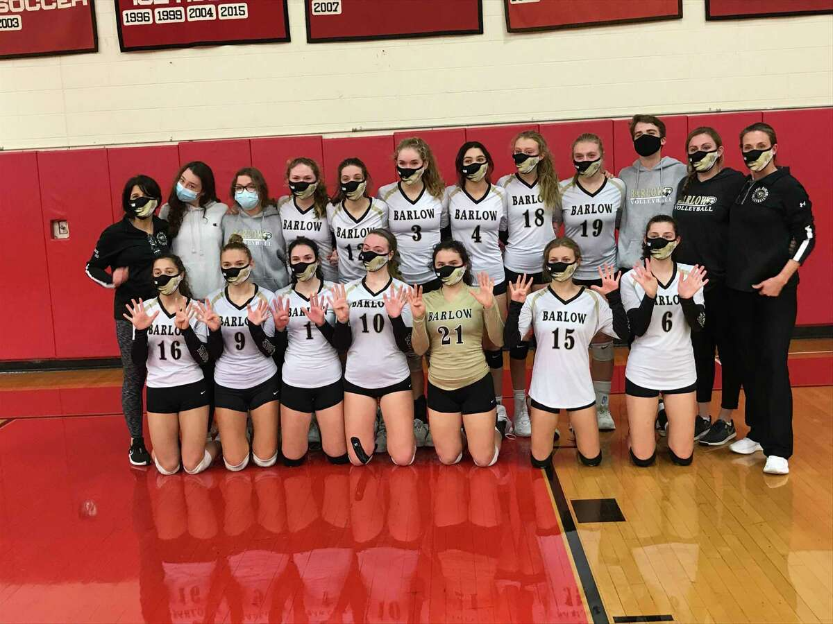 Joel Barlow won the SWC South Region volleyball championship with a 3-1 victory against host Masuk on Friday, November 13, 2020, in Monroe, Connecticut.