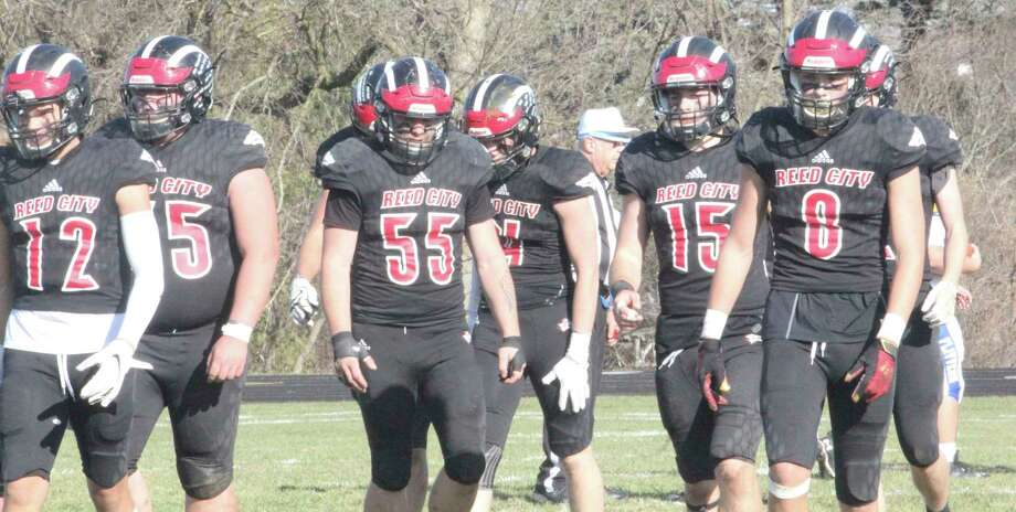 Reed City's football players will now prepare for next week's regional title game. (Pioneer photo/John Raffel)