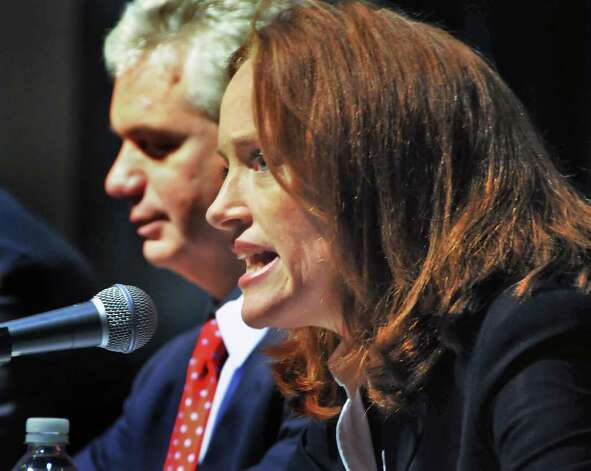 Nassau County District Attorney Kathleen Rice is leading the polls for the attorney general nomination in the Democratic primary.   (John Carl D'Annibale / Times Union) Photo: John Carl D'Annibale / 00010092A