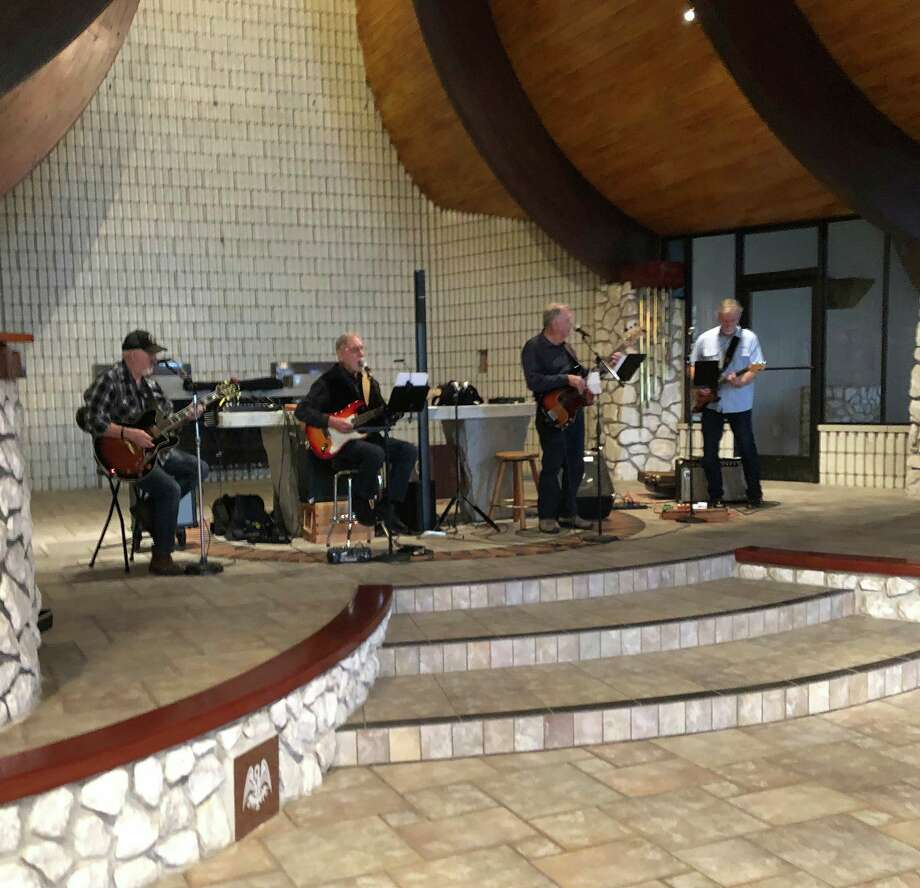 The first musical event at the Wagoner Community Center proved to be a delightful affair. Attendees had more than enough room to spread out, be safe and enjoy the captivating sounds of the 3Ds as they performed on Wednesday. (Courtesy Photo)