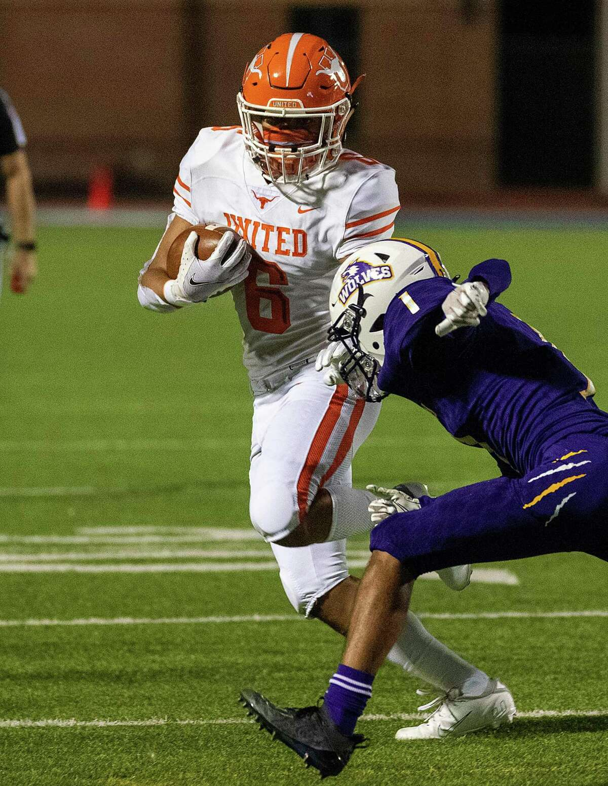 United running back Jalen Morris ran well in the Longhorns' victory over LBJ Friday.