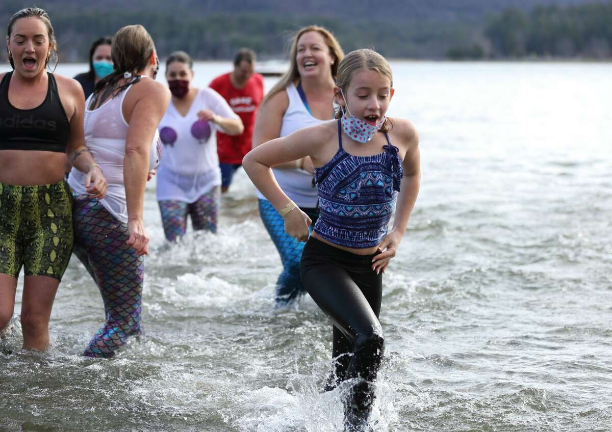 Were you Seen at the 14th annual Lake George Polar Plunge, a benefit for Special Olympics New York, held at Shepard Park Beach in Lake George on Saturday, November 14, 2020?