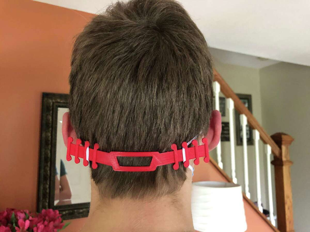 Ear savers are devices a person can attach to a mask so their ears don't bear the brunt of the irritation or stress that can come from longer use.