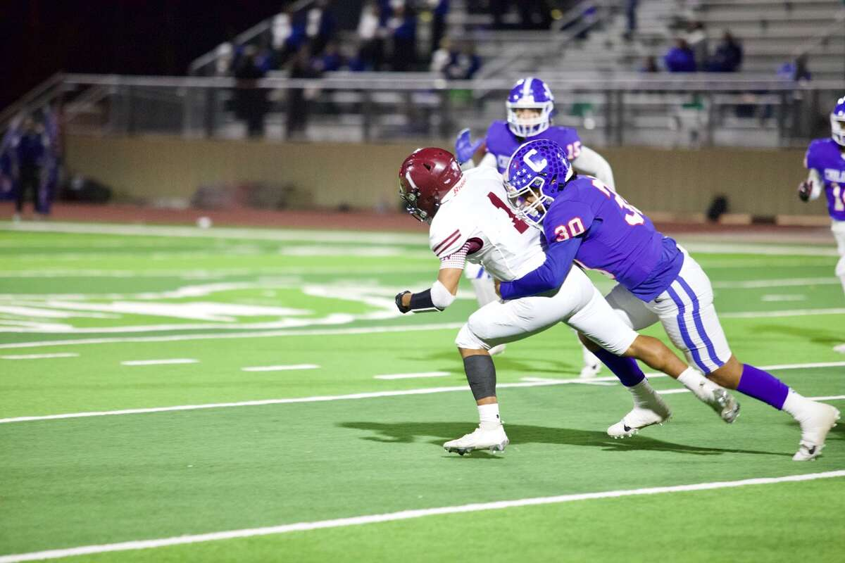 Abernathy fell 28-21 to Childress in the bi-district round of the Class 3A Division II football playoffs on Nov. 13, 2020 in Tyer Stadium in Floydada.
