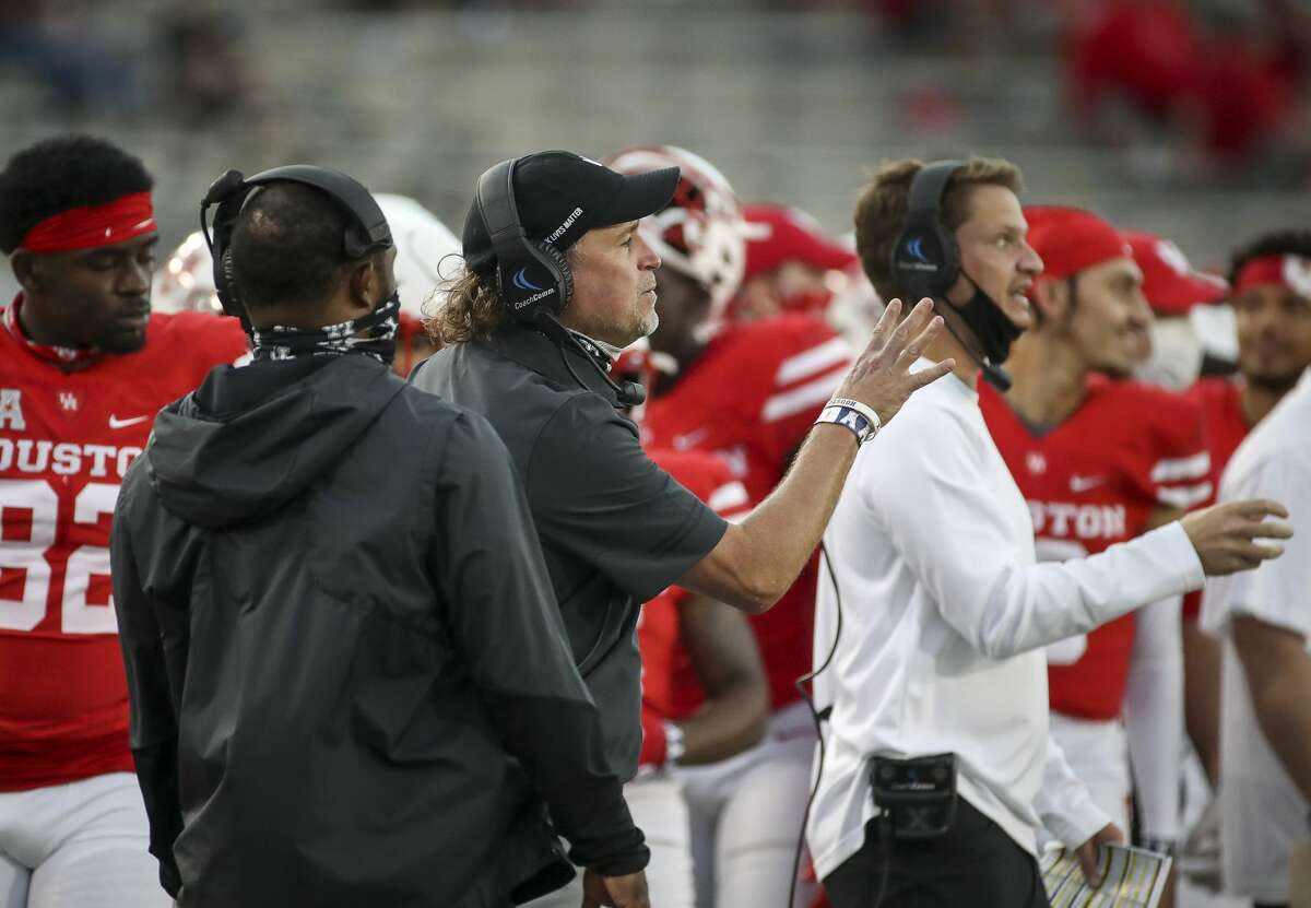 UH had eight football games either canceled or postponed by COVID-19 issues in 2020.