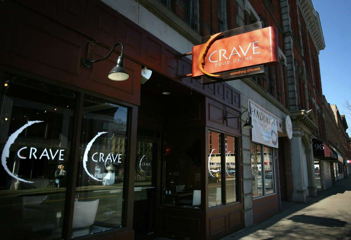 Crave restaurant on Ansonia. Céntrico, Bethel Statewide and Fairfield County Winner Ola Latin Kitchen, Bridgeport Statewide Runner-up Crave, Ansonia New Haven County Canggio Restaurant, Norwich New London County