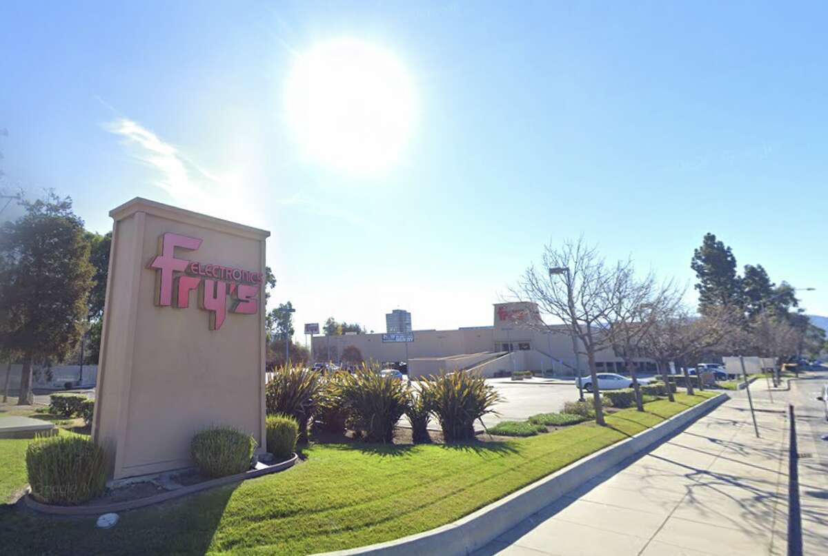 The Fry's Electronics in Campbell, Calif. It closed permanently in Nov. 2020.