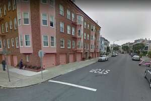 Police responded a report of an armed robbery at the intersection of Pierce Street and Toledo Way in San Francisco's Marina District.