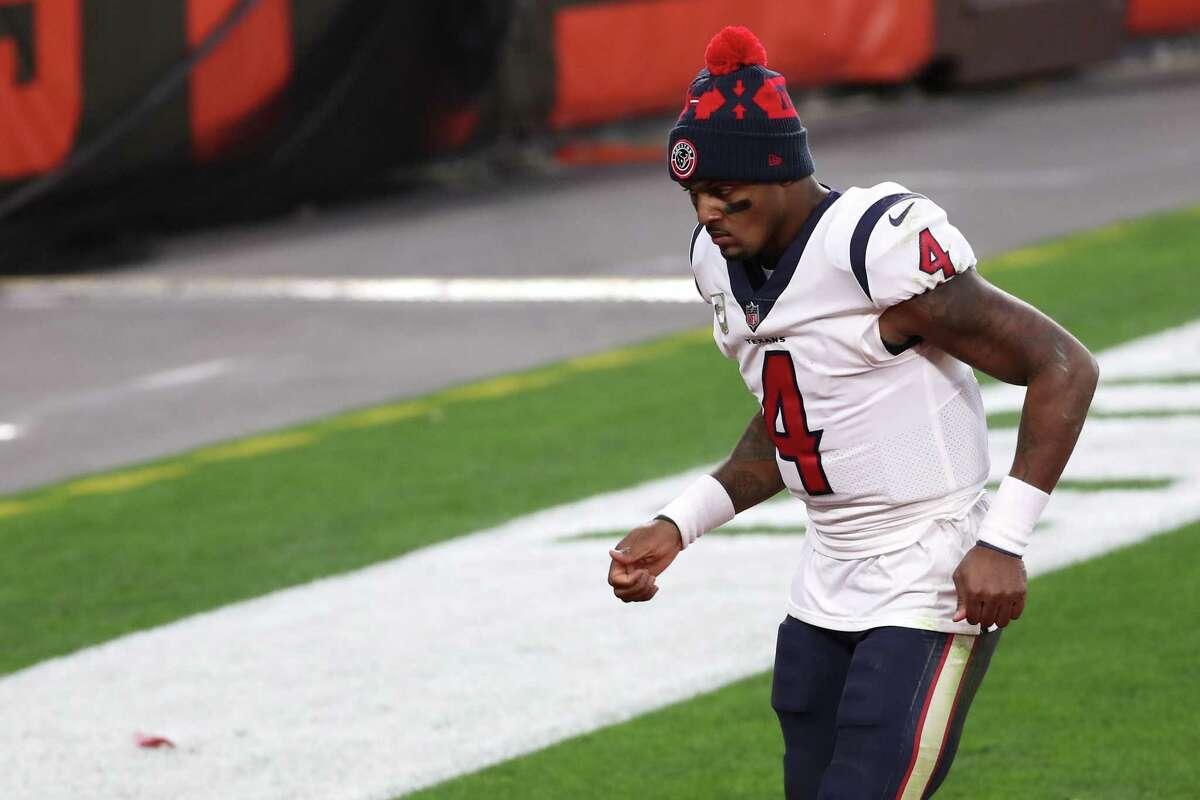 Houston Texans quarterback Deshaun Watson now is under investigation by the Houston Police Department.