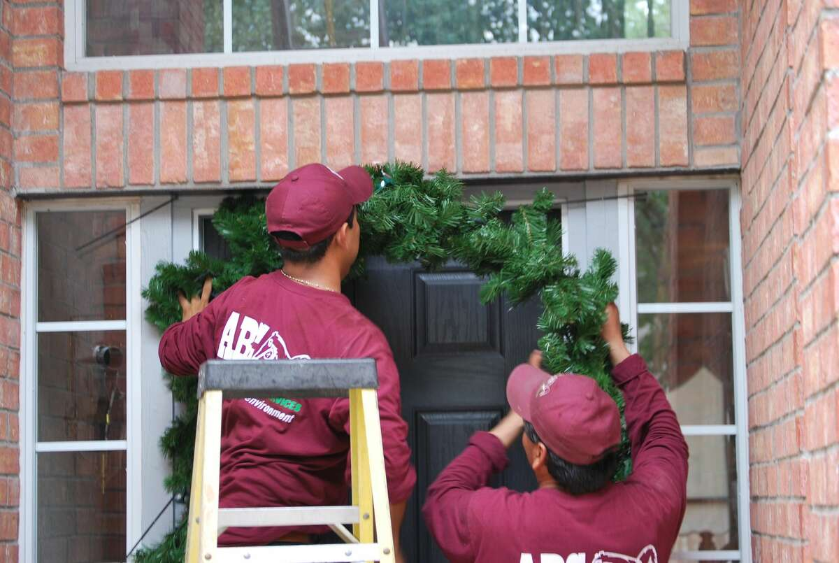 ABC Home & Commercial Services started installing Christmas and holiday lights 10 years ago.