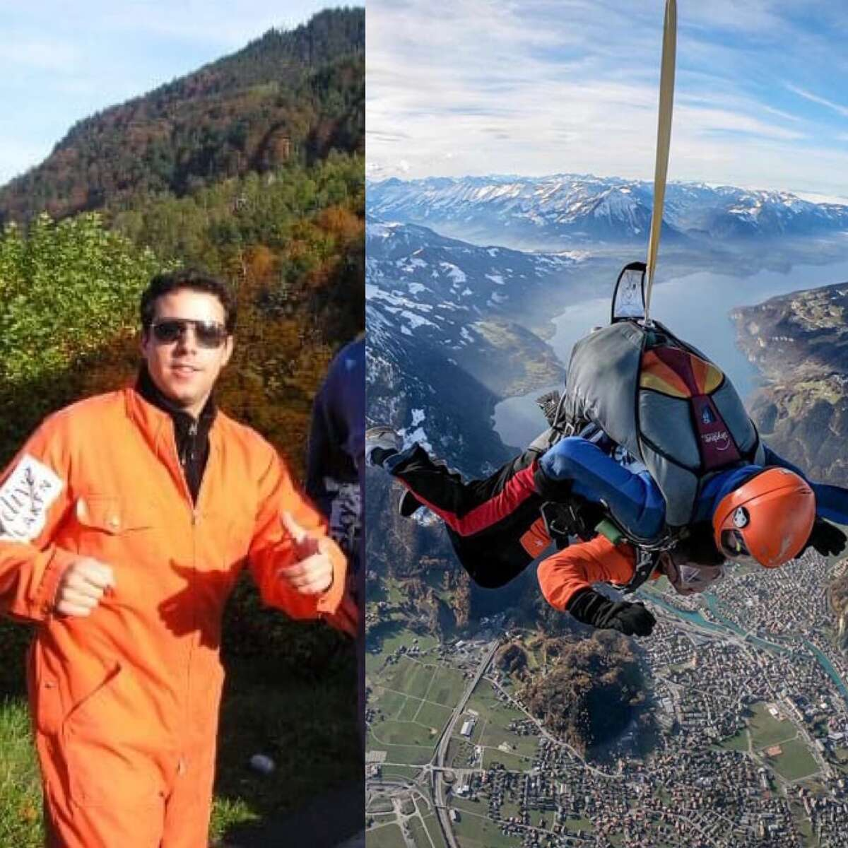 1. I have a major fear of heights, but went skydiving out of a helicopter at 15k feet in the Swiss Alps. I still don't like standing close to two-story railings now.