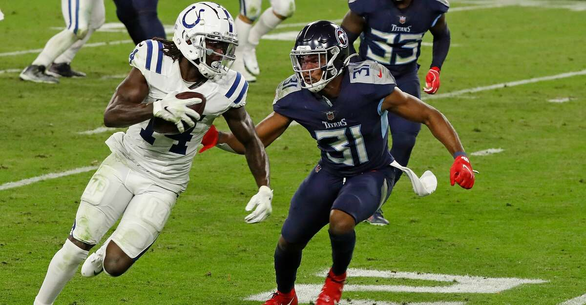 The Colts and Titans face off Sunday in Indianapolis with first place in the AFC South on the line.