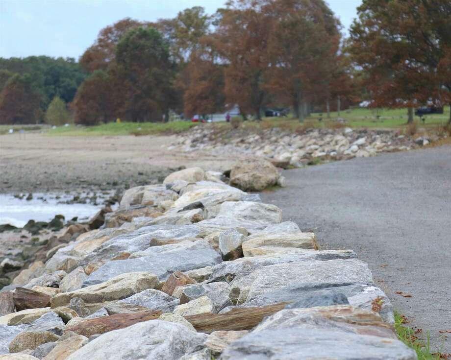 A file photo of Sherwood Island State Park in Westport, Conn. Photo: Jarret Liotta / Hearst Connecticut Media / ©Jarret Liotta 2020