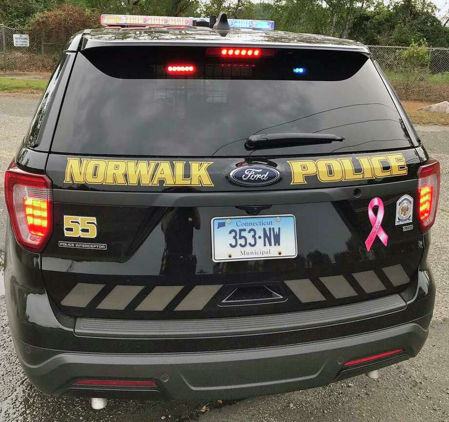 A file photo of a Norwalk, Conn., police cruiser. Photo: Norwalk Police Department / Contributed Photo / Connecticut Post Contributed