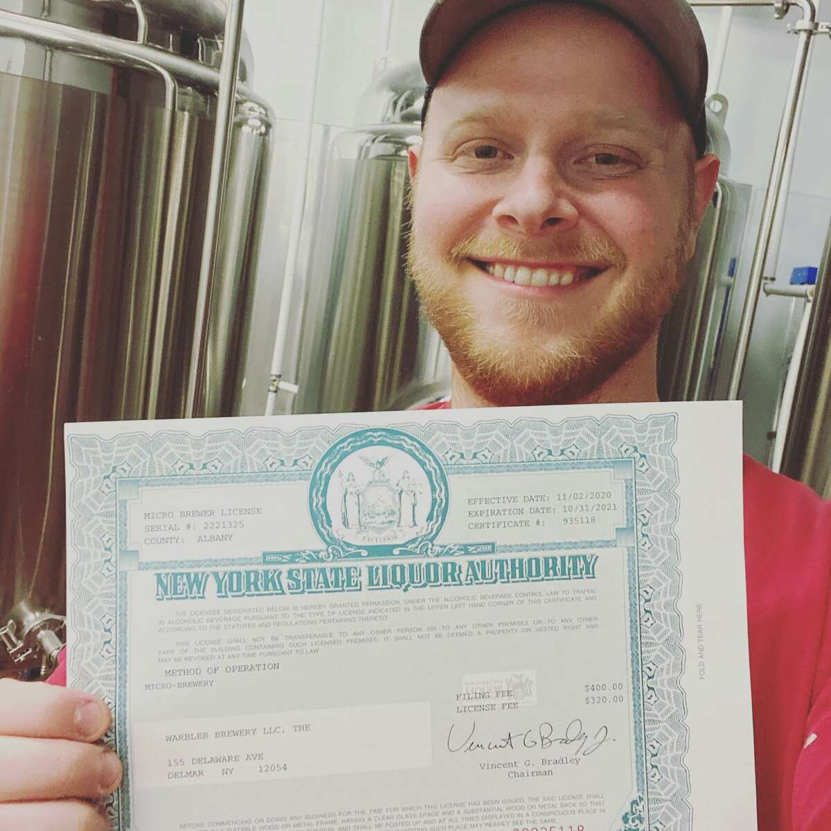 Delmar native Chris Schell is opening a new micro-brewery on Delaware Avenue across from the Hannaford supermarket.