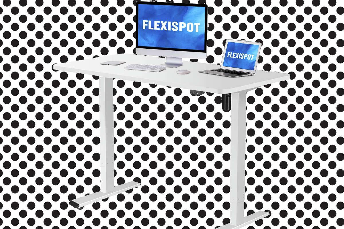 Flexispot height adjustable desk at Amazon