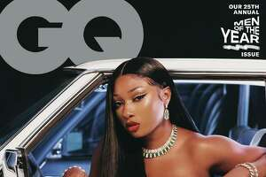 Houston rapper Megan Thee Stallion covers GQ's Men of the Year issue.