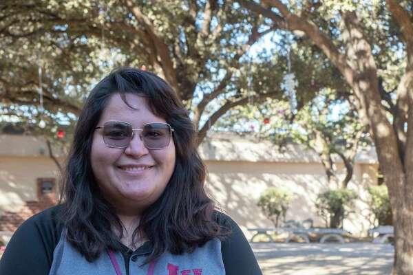 Jessica Webb, Lee High School geometry teacher. 11/16/2020 Tim Fischer/Reporter-Telegram