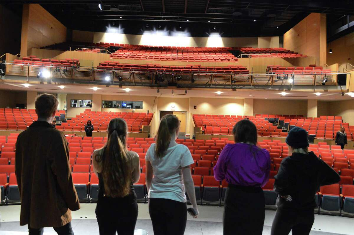 Darien High School Theatre 308 Students are putting on