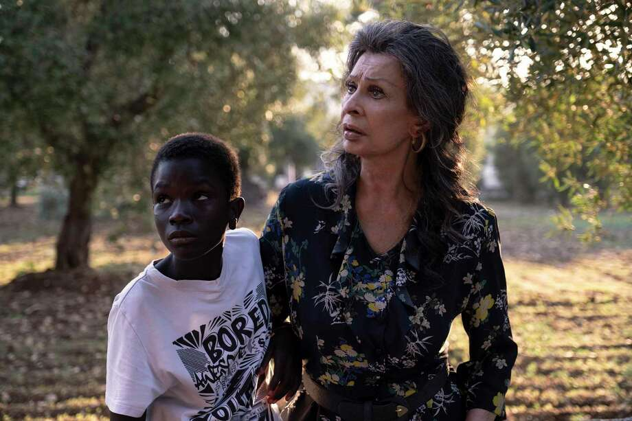 "Sophia Loren, right, and Ibrahima Gueye, in ""The Life Ahead."" MUST CREDIT: Regine de Lazzaris a.k.a. Greta/Netflix Photo: Regine De Lazzaris Aka Greta / Netflix / Regine de Lazzaris aka Greta"