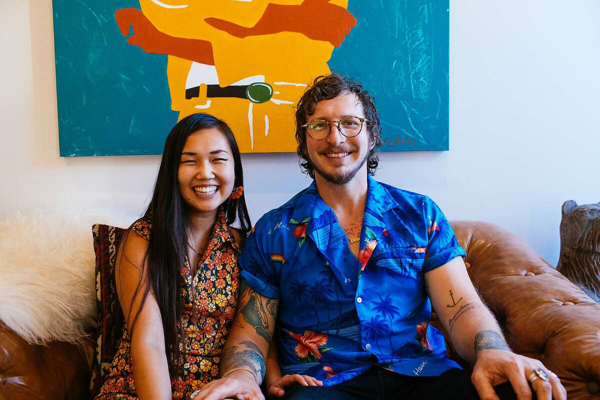 Kayla Abe and David Murphy, founders of Ugly Pickle Co., are opening Shuggie's Trash Pie & Natural Wine in San Francisco.