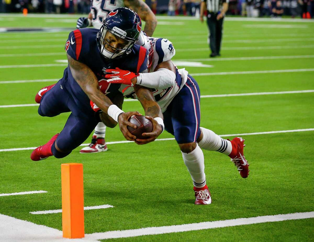 Deshaun Watson's diving TD against New England last season was one of the highlights of the Texans' upset.