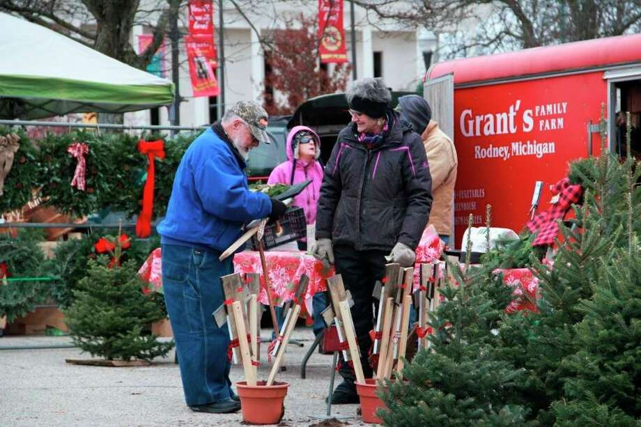 The annual Big Rapids Downtown Holiday Farmers Market has been canceled this year due to concerns about COVID-19. (Pioneer file photo)