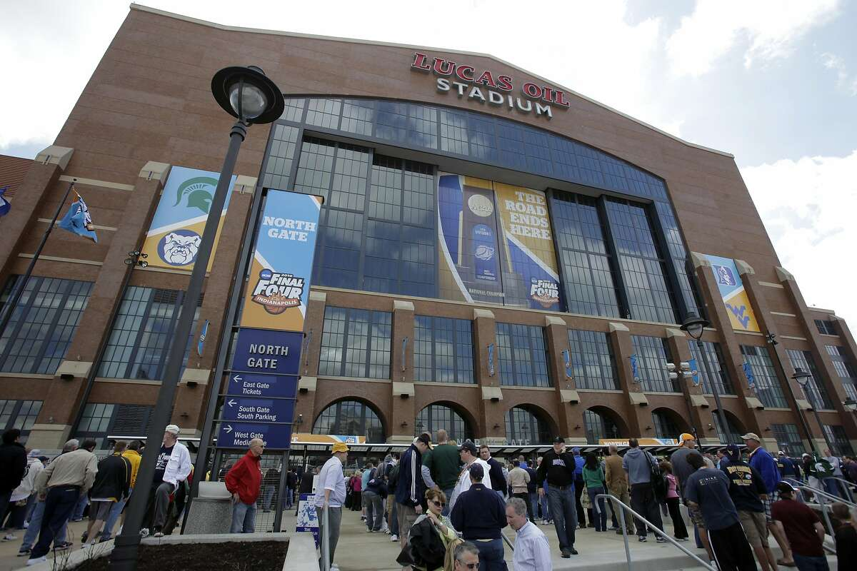 The NCAA announced Monday that it plans to hold the entire 2021 men's college basketball tournament in one geographic location to mitigate the risks of COVID-19 and that is in talks with Indianapolis to be the host city.