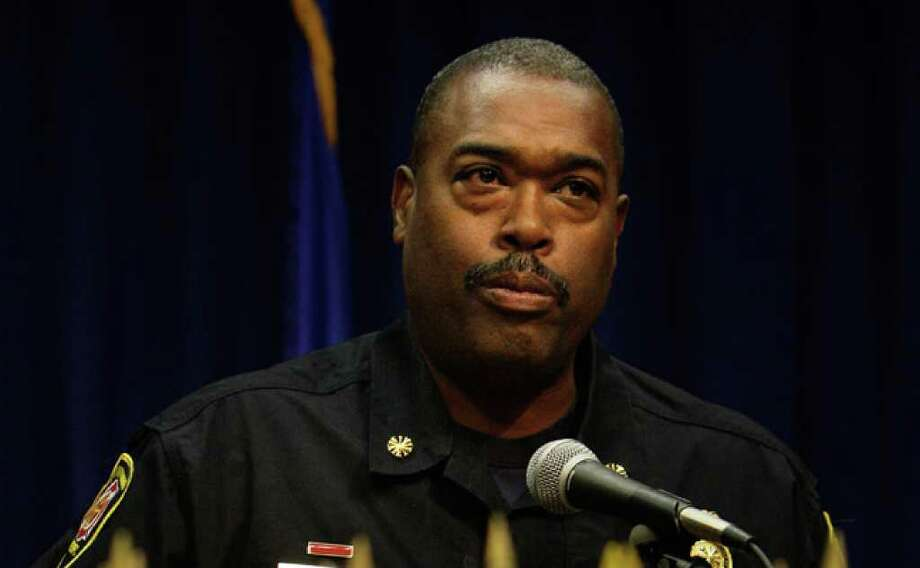 Fire Chief Charles Hood argued against changing the rules regarding applicants with a history of family violence.