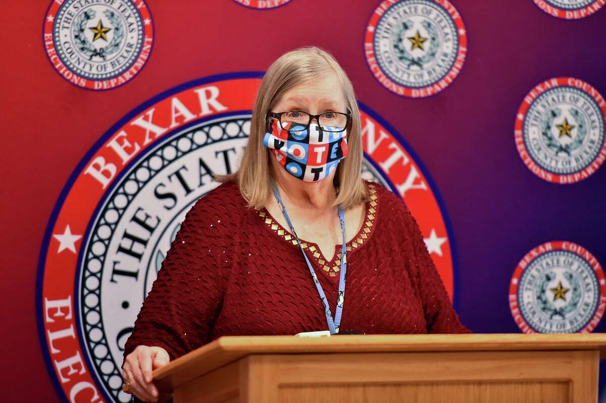 Bexar County Elections Administrator Jacque Callanen presented a report that was approved by Bexar County commissioners documenting more than 773,000 ballots cast in the Nov. 3 election, a new record, with a 65 percent turnout of the county's registered voters.