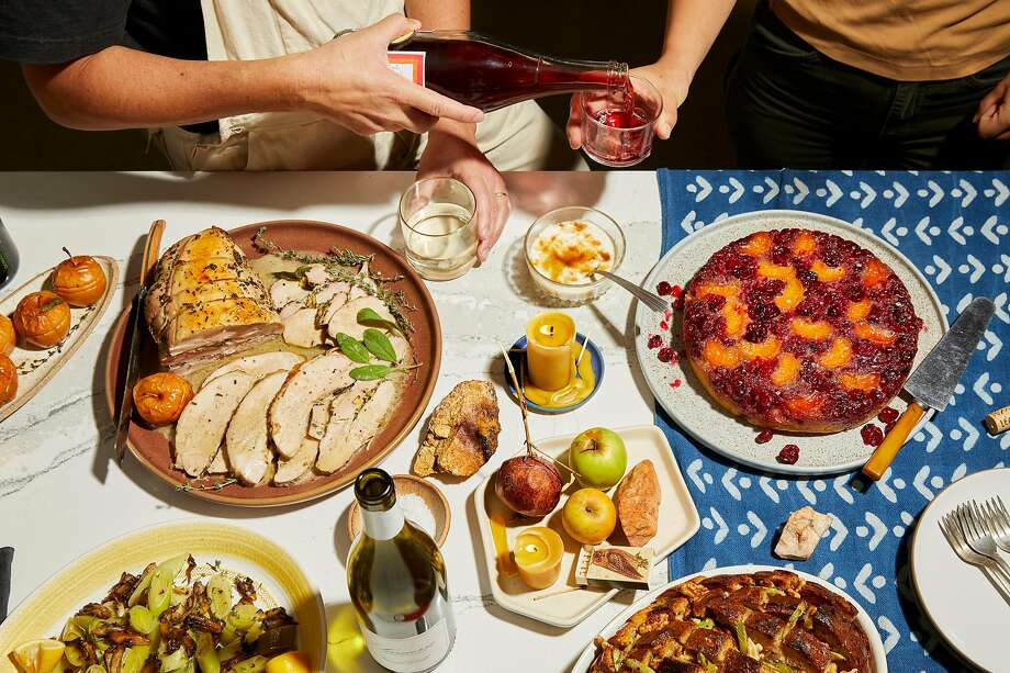 Get a head start on your Thanksgiving plans - Next Thursday is finally Thanksgiving, which means you have less than a week to make sure you have the perfect meal planned for your family. If you are not culinary-inclined, many Connecticut restaurants are open for dining in or for takeout.  Photo: Andrea D'Agosto / Special To The Chronicle; Photo Styling By Christian Reynoso