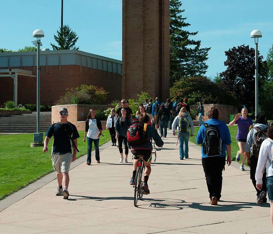 Ferris students will move to a remote learning method beginning Wednesday through Dec. 8. Campus will remain open during this time. Photo: Pioneer File Photo