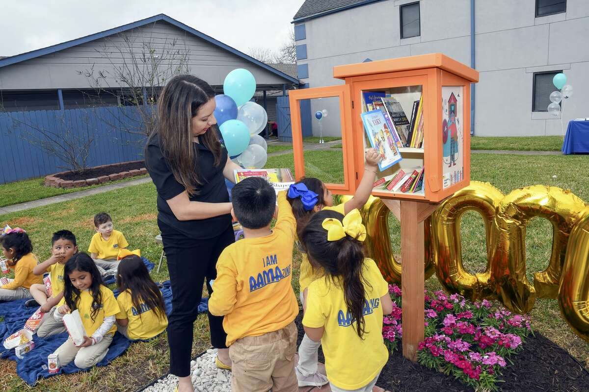 Houston is home to Little Free Library no. 100,000, which stands at The Association for the Advancement of Mexican Americans.