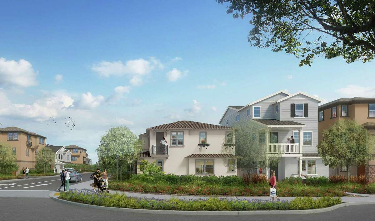 Mariner's Cove in Vallejo is a master-planned community with parks, walking paths and detached townhomes near the waterfront that will begin construction in 2021.