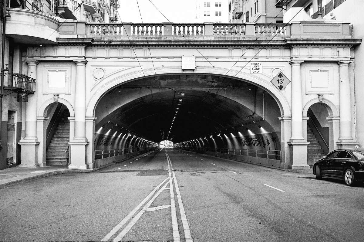 The Stockton Tunnel, San Francisco.