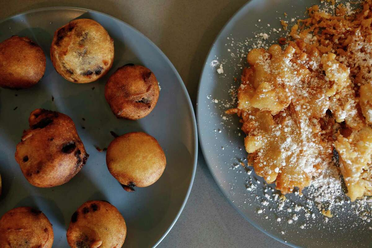 Fried Oreos and an attempt at a funnel cake