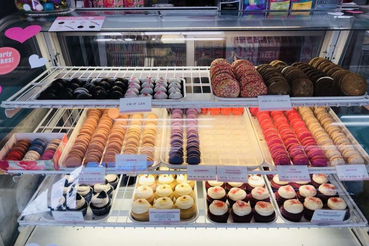 Sift Dessert Bar  Who doesn't like sweets? Sift Dessert Bar has several desserts available on GoldBelly, including macarons, cruffles and whoopie cookies. Sift Dessert Box | Multiple locations | Find them on GoldBelly