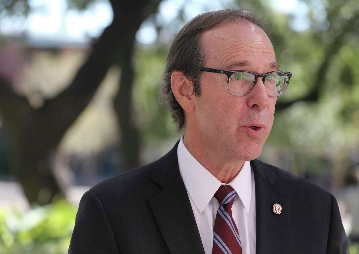 Trinity University president Danny Anderson is leaving his post after seven years.