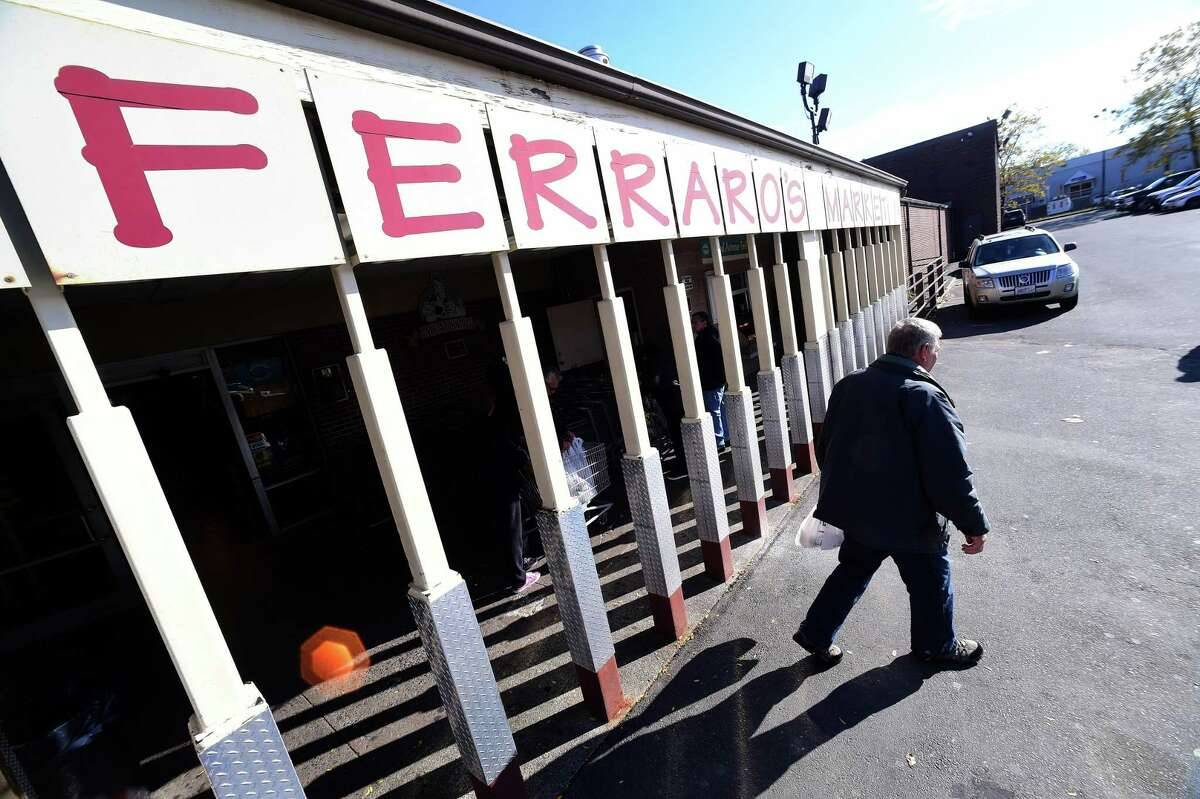 The entrance to Ferraro's Market in New Haven photographed on November 8, 2017. Much of Freda's economic development efforts this year have focused on bringing new businesses to Universal Drive or filling empty spaces created when stores close. Earlier this year, Hartford Healthcare opened a medical facility in the 40,000-square-foot location in North Haven Commons that once was home to Sports Authority. The sporting good chain's North Haven store closed in 2016 as part of Chapter 7 bankruptcy liquidation. A Jersey Mike's sandwich shop will be moving into the North Haven Crossing shopping plaza where Barnes & Noble is located. And just a short distance from the bookstore on Universal Drive, construction of a new Hampton Inn hotel will get underway over the next few weeks adjacent to Chik-fil-A and Cinemark Cinemas.