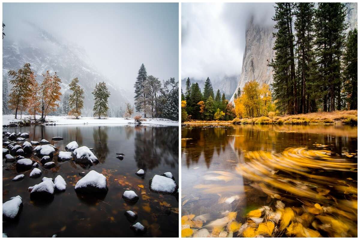 As soon as he heard a snowstorm was coming, photographer Kavin Chawla started packing for a trip to Yosemite.