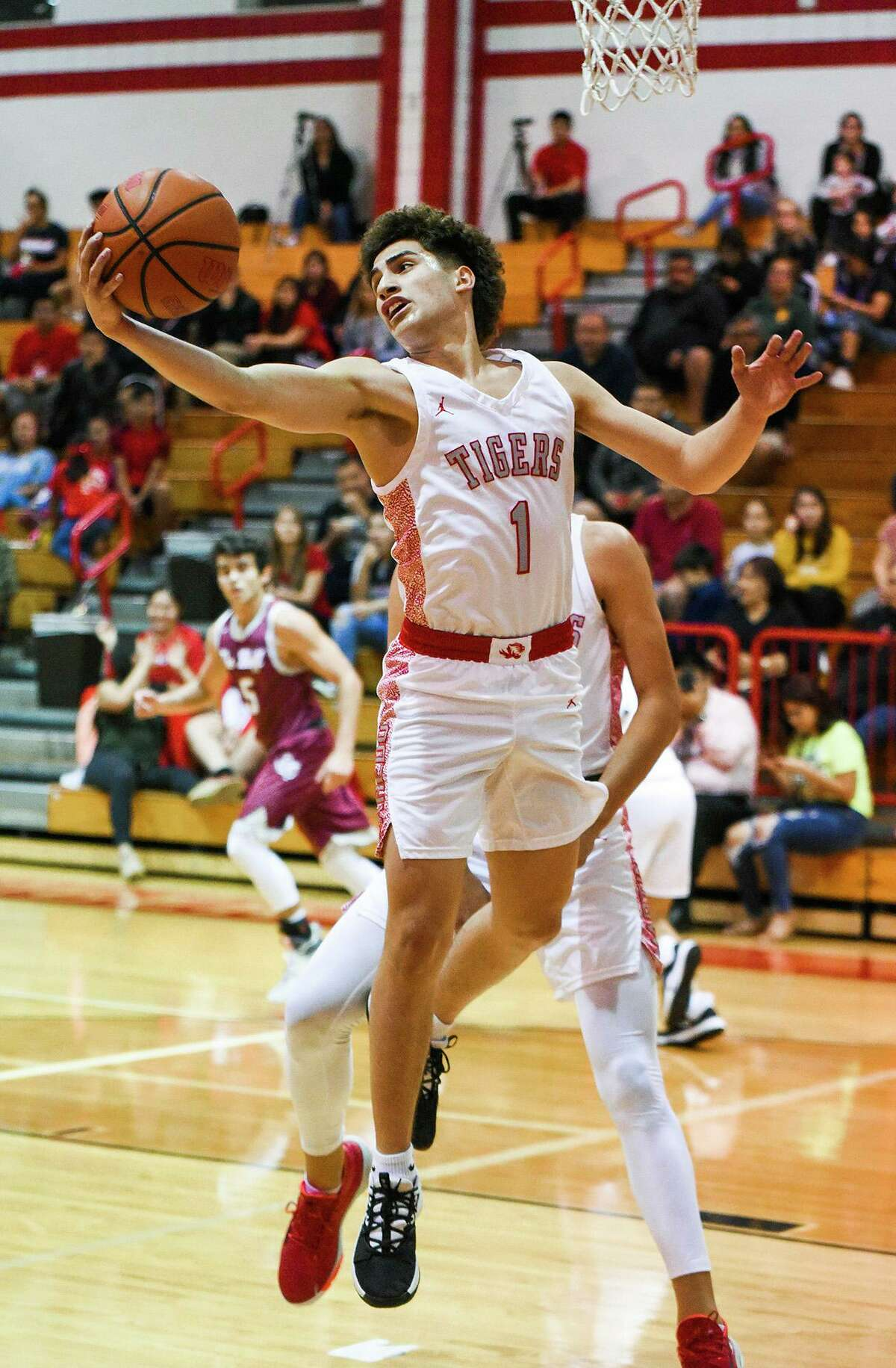 Chris Martinez and the Martin Tigers open their season against LBJ on Tuesday.