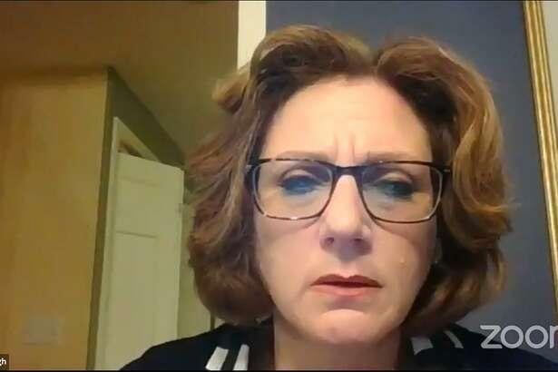 Board of Finance Chairman Lainie McHugh